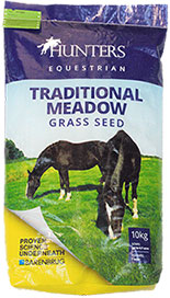 Hunters traditional meadow grass seed